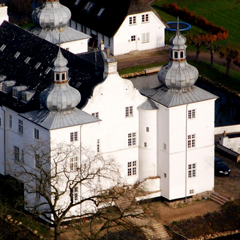 Engelsholm Højskole, seen from above
