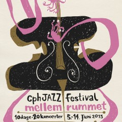 Poster for Mellemrummet's 2013 jazz festival program